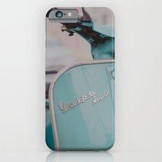 Mint Vespa  iPhone 6s Slim Case