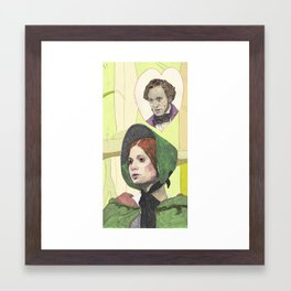 Jane Eyre Framed Art Print