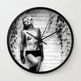 Poison Ivy Ft. MB Wall Clock