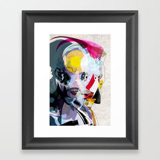 Travis02 Framed Art Print