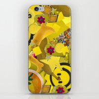sister iPhone & iPod Skins featuring Sister by PurplePiratePlatymonkey