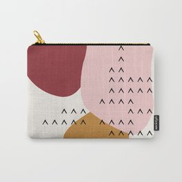 Big Shapes / Mountains Carry-All Pouch