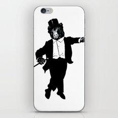 Tap Dancing Bear iPhone & iPod Skin