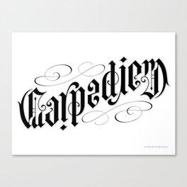 Carpe Diem Canvas Print