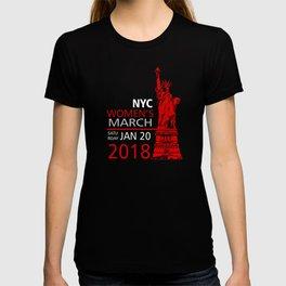 Womens March Liberty T-shirt
