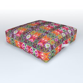 N247 - Colored Oriental Traditional Boho Moroccan Style Outdoor Floor Cushion