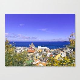 The Pearl Of The Mediterranean Sea Canvas Print