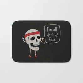 Skull in your Face Bath Mat