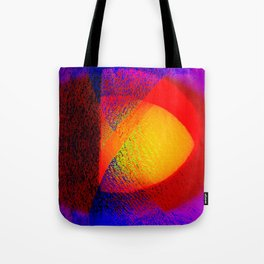 Abstract pattern in colors Tote Bag