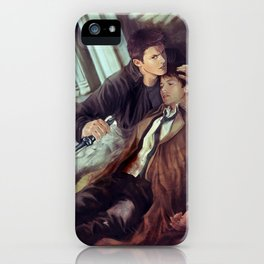 Supernatural Protecting something so Holy iPhone Case