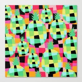 Pop-Pineapple Canvas Print