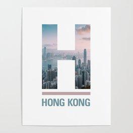H-ong Kong Poster