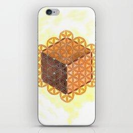 Metatron's Cube iPhone Skin