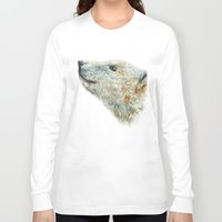 polar bear Long Sleeve T-shirts featuring Polar bear by Laura MSS