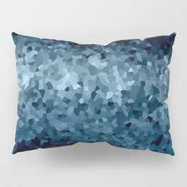 Blue Cristals Pillow Sham