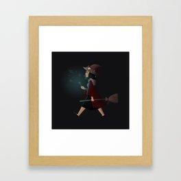 witchy regina Framed Art Print