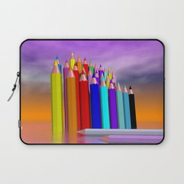time to draw a picture -3- Laptop Sleeve