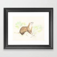 Noble Allen Framed Art Print