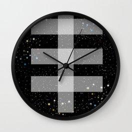 Double drop Wall Clock