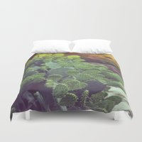 southwest Duvet Covers featuring Southwest Sunset by The Dreamery