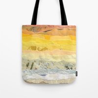 america Tote Bags featuring America by Grace Breyley