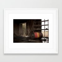 oil Framed Art Prints featuring Oil by dsimpson