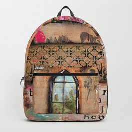 Begin Each Day with a Grateful Heart Backpack