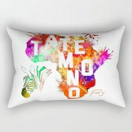 Tatemono Jungle by Fred Jo' Rectangular Pillow