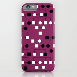 Pedigree Analysis - X-linked Dominant iPhone Case