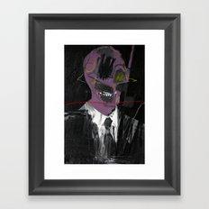 Salesman 2. 2015. Framed Art Print