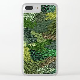 Leaf Cluster Clear iPhone Case