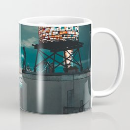 The Water Tower New York City (Color) Coffee Mug