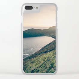 Keem Bay Sunset - nature photography Clear iPhone Case