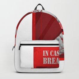 In case of war break glass Backpack