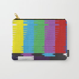 color tv bar#glitch#effect Carry-All Pouch