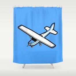 Cessna aircraft Shower Curtain