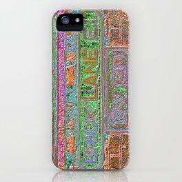 Brick Lane 3 B iPhone Case