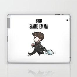 BRB Saving Emma Laptop & iPad Skin