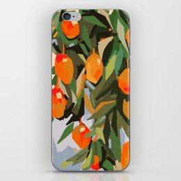 mangoooooo iPhone Skin
