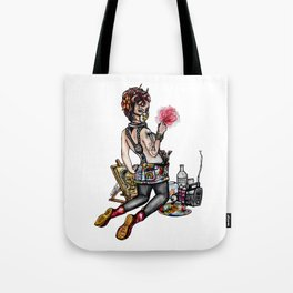 Pin up Grrl, Artsy Tote Bag