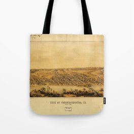 View of Fredericksburg, Virginia (Nov. 1862) Tote Bag