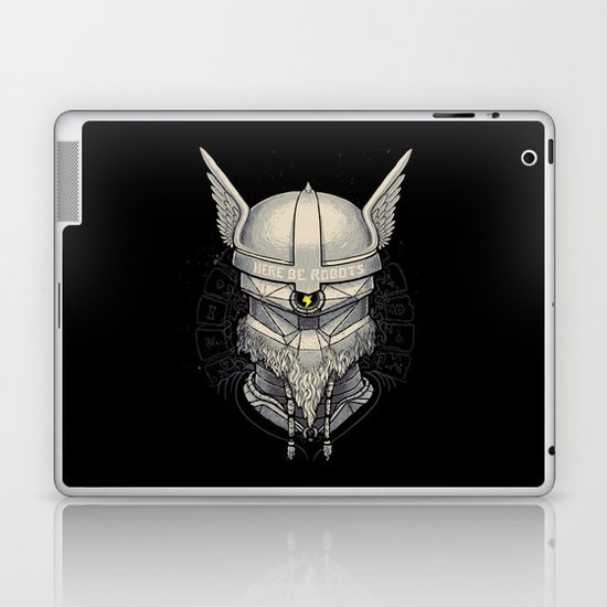 Viking robot Laptop & iPad Skin