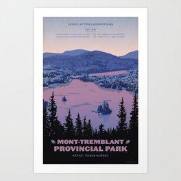 Mont-Tremblant Provincial Park Art Print