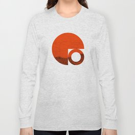 Symbol of Chaos Invert version Long Sleeve T-shirt