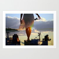 balance Art Prints featuring Balance  by Alexander Jedermann