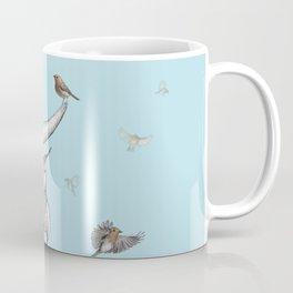 Triceratops and Birdies Coffee Mug