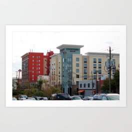 Architecture In Wilmington Art Print