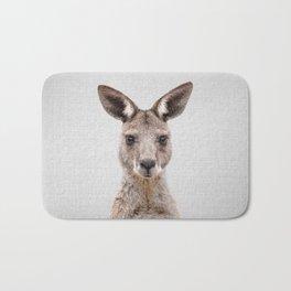 Kangaroo 2 - Colorful Bath Mat