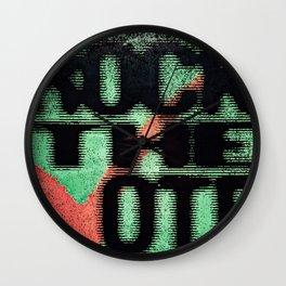 Vintage Rock the Vote Wall Clock