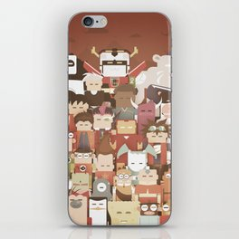 The Nick Yorkers family portrait  iPhone Skin